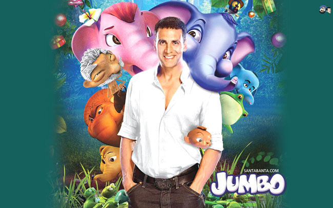Akshay Kumar Give His Voice For Jumboo