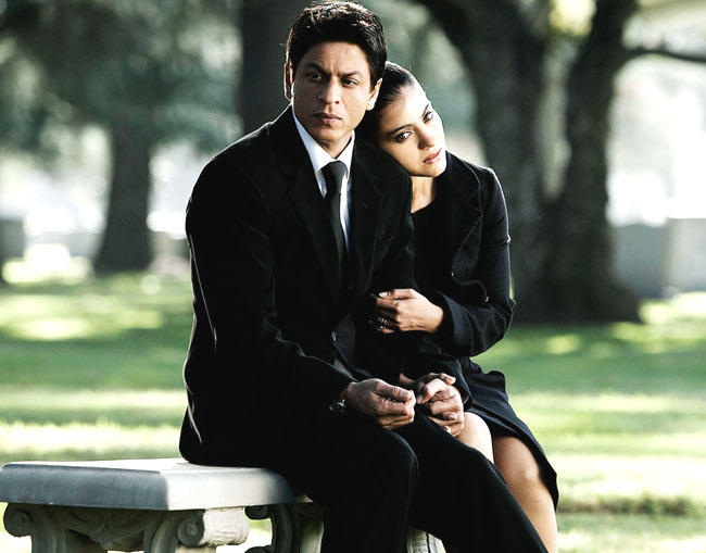Shahrukh And Kajol Photo Still From Movie My Name Is Khan