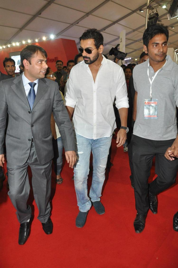 John Arrived At Mumbai International Motor Show Launch