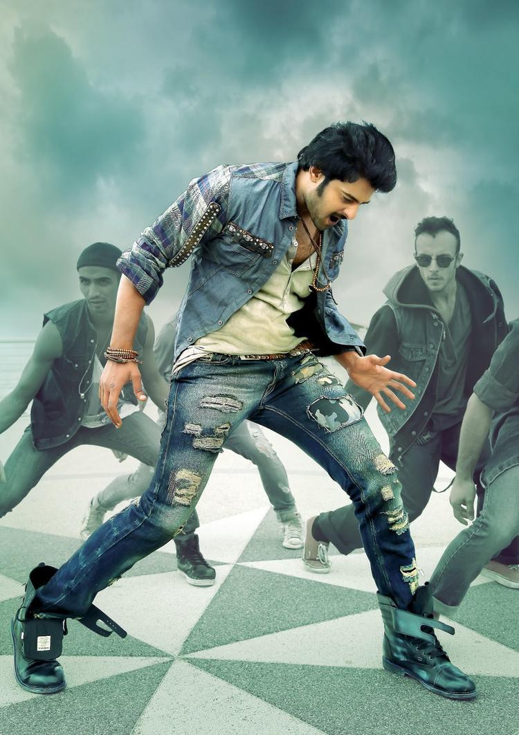 Prabhas Rocking Dance Photo From Telugu Movie Mirchi