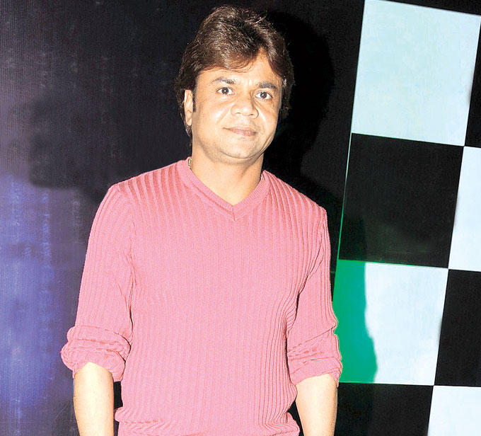 Rajpal Yadav Goes For Pink Photo Clicked At The Launch Of Shock Club