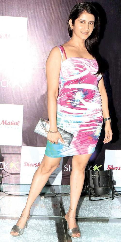 Smiley Suri Sexy Pose For Camera In A Mini Dress At The Launch Of Shock Club