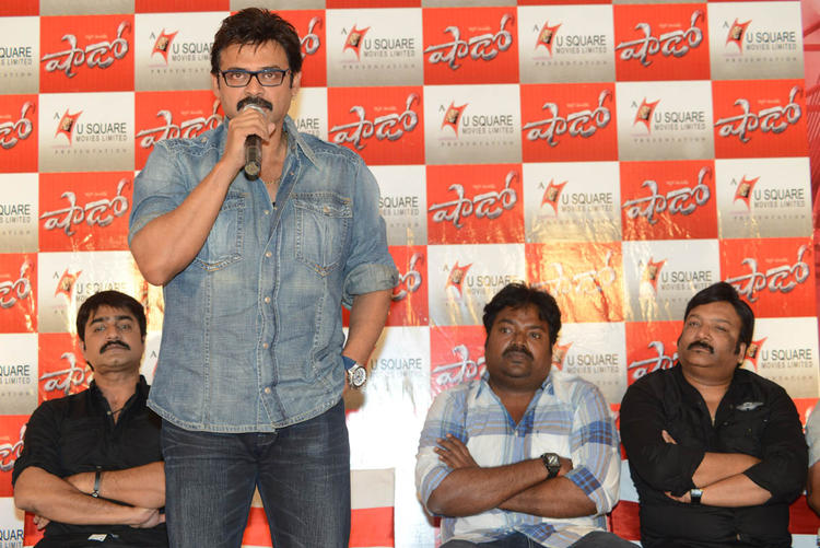 Srikanth,Venkatesh,Meher Spotted At Telugu Movie Shadow Press Meet