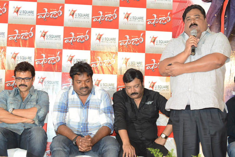 Venkatesh,Meher,Paruchuri And Kona Make An Appearanc At Telugu Movie Shadow Press Meet