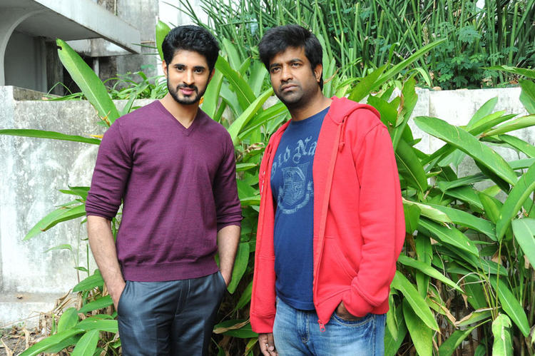 Arvind And Vennela Posed For Camera At Biscuit Movie Opening And Puja