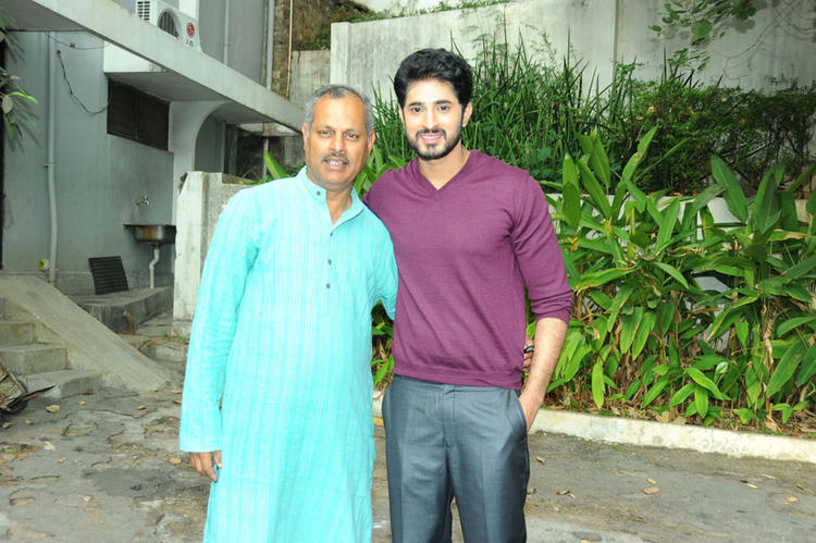 Arvind  With A Guest Photo Clicked At Biscuit Movie Opening And Puja