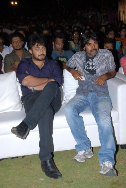 Celebs On Audience Chair At The 3G Music Launch Event