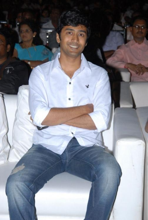 Rahul Ravindran Smiling Photo At The 3G Music Launch Event