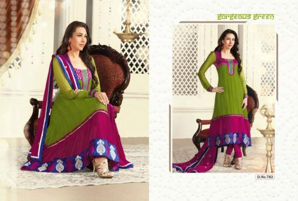 Karishma In Salwar Kameez Awesome Look Photo Shoot For Admix Retail Ad