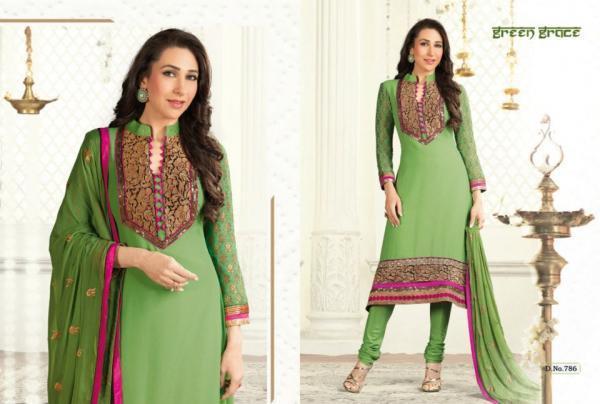 Karishma In Salwar Kameez Glamour Look Photo Shoot For Admix Retail Ad