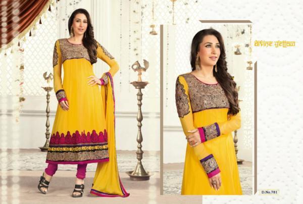 Karishma In Salwar Kameez Spicy Look Photo Shoot For Admix Retail Ad