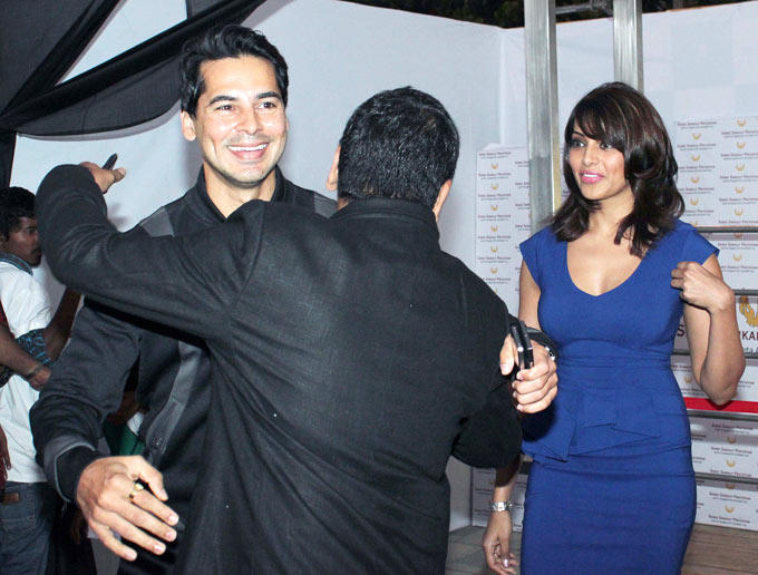 Sachin Hugs To Dino And Bipasha Gives A Look At The Launch Of Dino Moreas Fitness Product