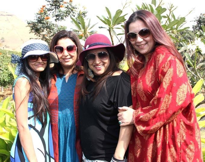 Bollywood Director Attends The Great Grover Zampa Stomp With Friends