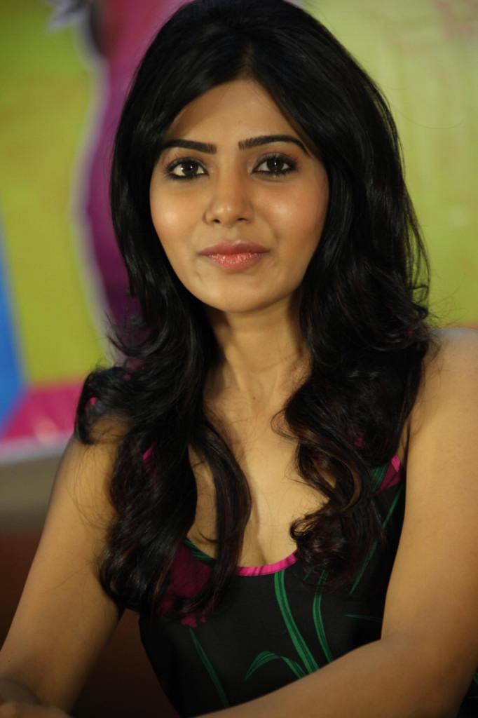 Samantha Present At Jabardasth Movie Press Meet