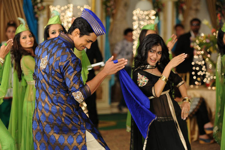 Siddharth And Samantha Dance In A Qabali Song In Movie Jabardasth