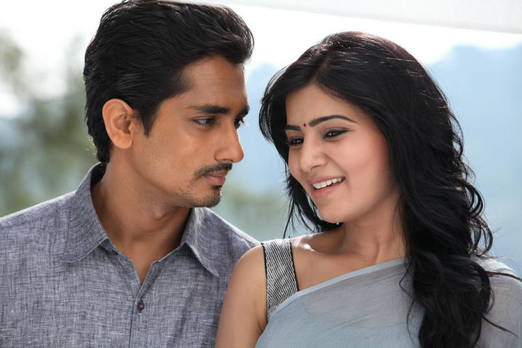 Siddharth And Samantha Sexy Look Photo From Movie Jabardasth