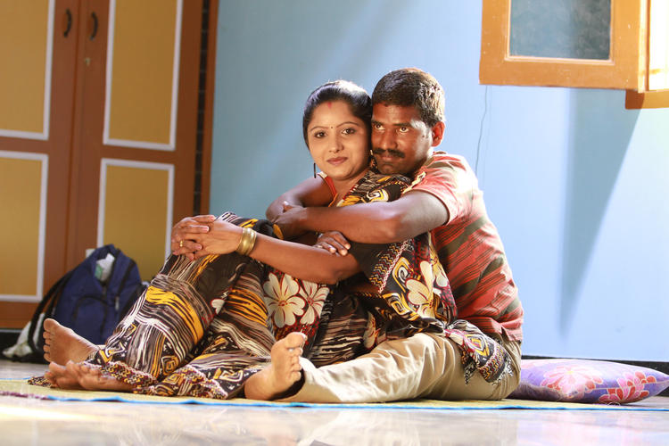 Selvan Madhavan And Sunitha From Telugu Movie Madhuram