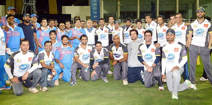 Mumbai Heroes Team Clicked At The DY Patil Sports Academy