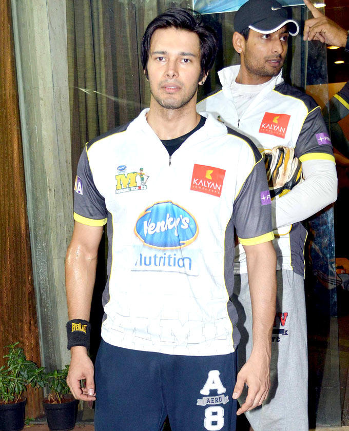 Rajneesh Duggal During The DY Patil Sports Academy