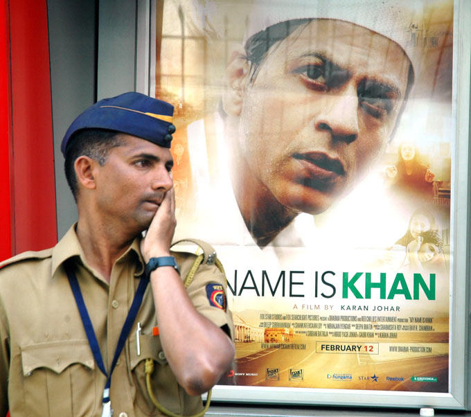 Shahrukh Khan In My Name Is Khan Poster