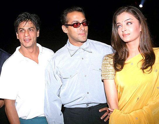 SRK,Salman And Aishwarya In Happier Times Still