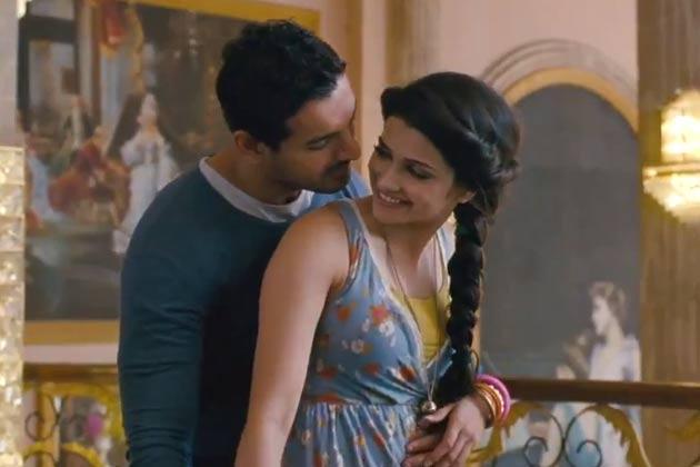 Prachi Desai And John Abraham Cool Still From I Me Aur Main Movie