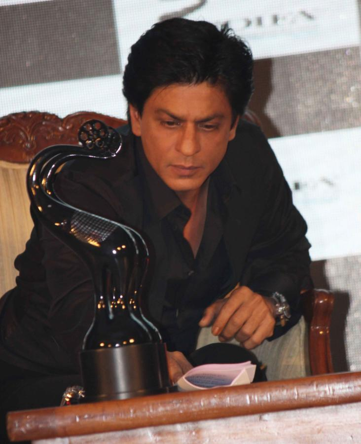 Shahrukh Khan Graced At TOIFA Vancouver 2013 Launch Event