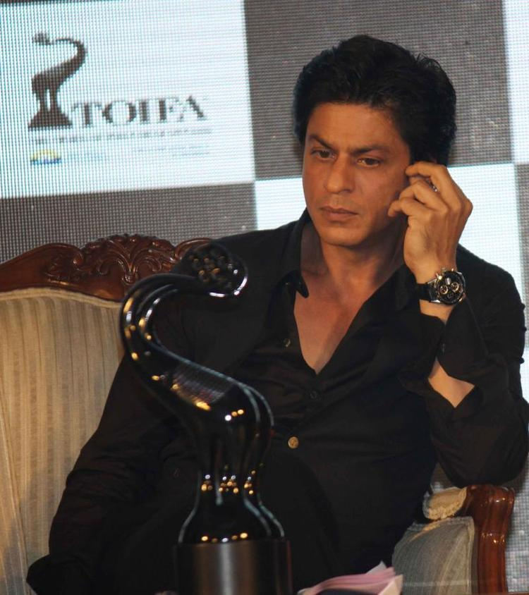 Shahrukh Khan At The Launch Of TOIFA Vancouver 2013
