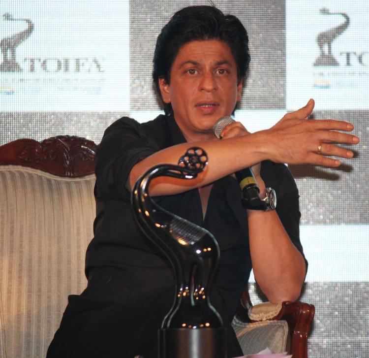 Shahrukh Khan Present At The Launch Of TOIFA Vancouver 2013