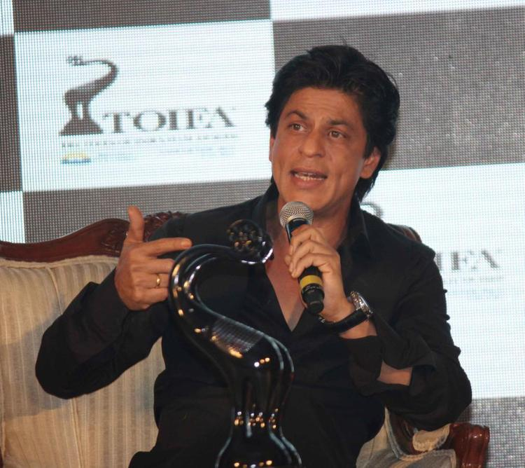 Shahrukh Khan Speaks On At TOIFA Vancouver 2013 Launch Event