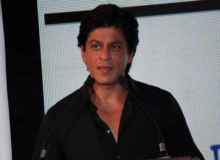 Shahrukh Khan Spotted At TOIFA Vancouver Launch Event