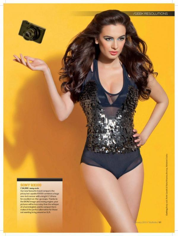 Evelyn Sharma Exclusive Hot Shoot For Stuff India Feb 2013