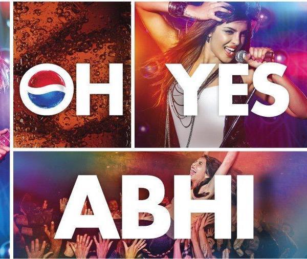 Priyanka Chopra Cool Photo Shoot For Pepsi Oh Yes ABHI! Ad