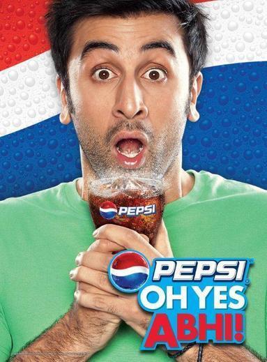 Ranbir Kapoor Amazing Look Photo Shoot For Pepsi Oh Yes ABHI! Ad