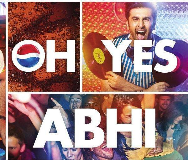 Ranbir Kapoor Rocking Photo Shoot For Pepsi Oh Yes ABHI! Ad