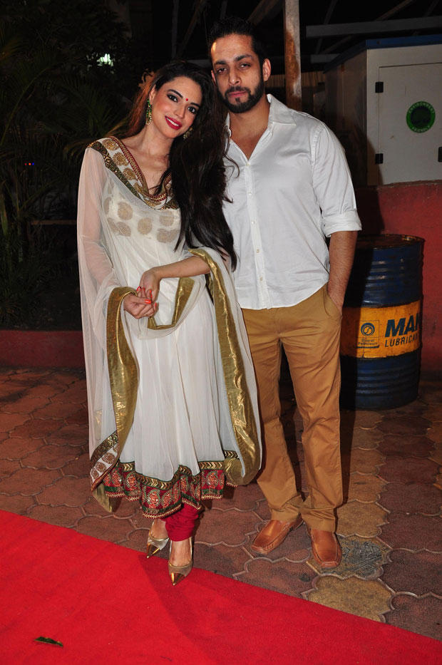 Salil With A Friend Present At Udita Goswami And Mohit Suri Wedding Ceremony