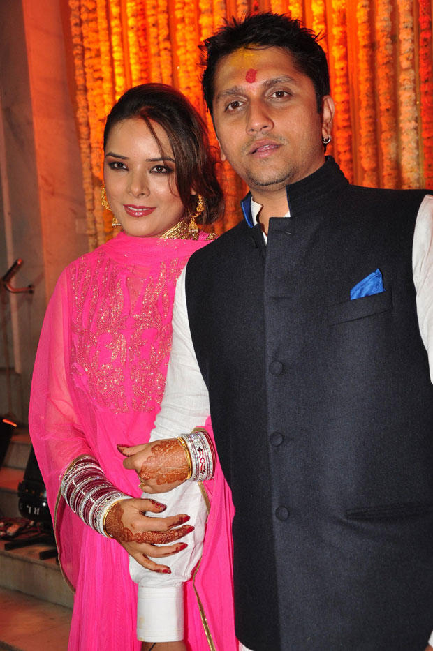 Udita And Mohit Cosy Photo Clicked At Their Wedding Ceremony