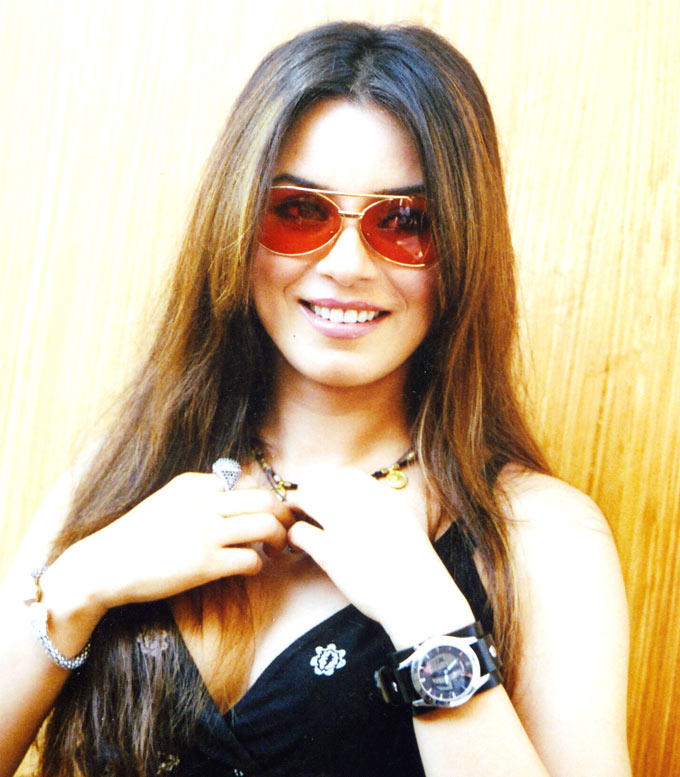 Smiling Mahima Chaudhary Glamour Look Photo