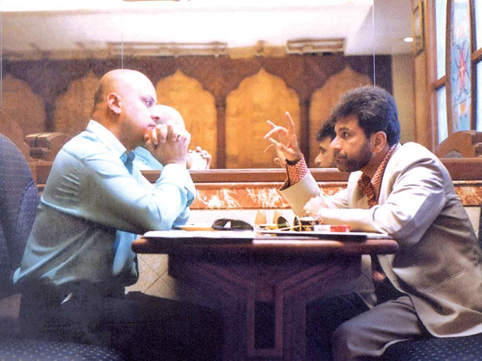 Anupam And Pavan Discurssion Photo From Movie Black Friday