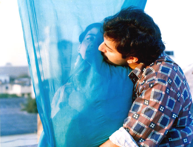 Arvind And Manish Romance Scene Photo From Movie Bombay