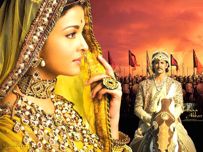 Hrithik And Aishwarya In Traditional Wear In Movie Jodhaa Akbar