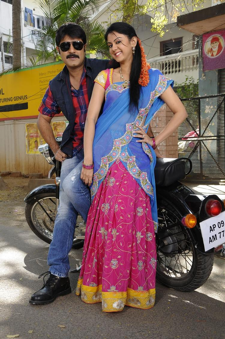Srikanth And Kamna Smiling Still Pushyami Film Makers Movie