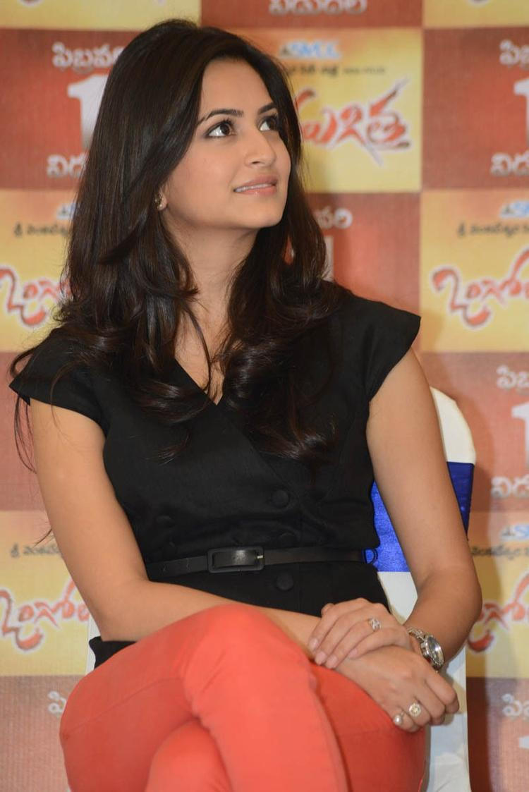 Kriti Photo Clicked At Ongole Githa Press Meet