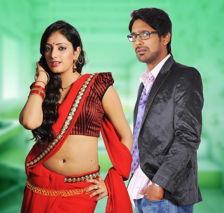 Haripriya And Varun Sexy And Hot Look Photo From Telugu Movie Abbai Class Ammai Mass