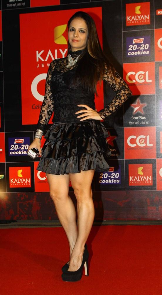 A Celebrety Spotted On Red Carpet At CCL 3 Opening Ceremony