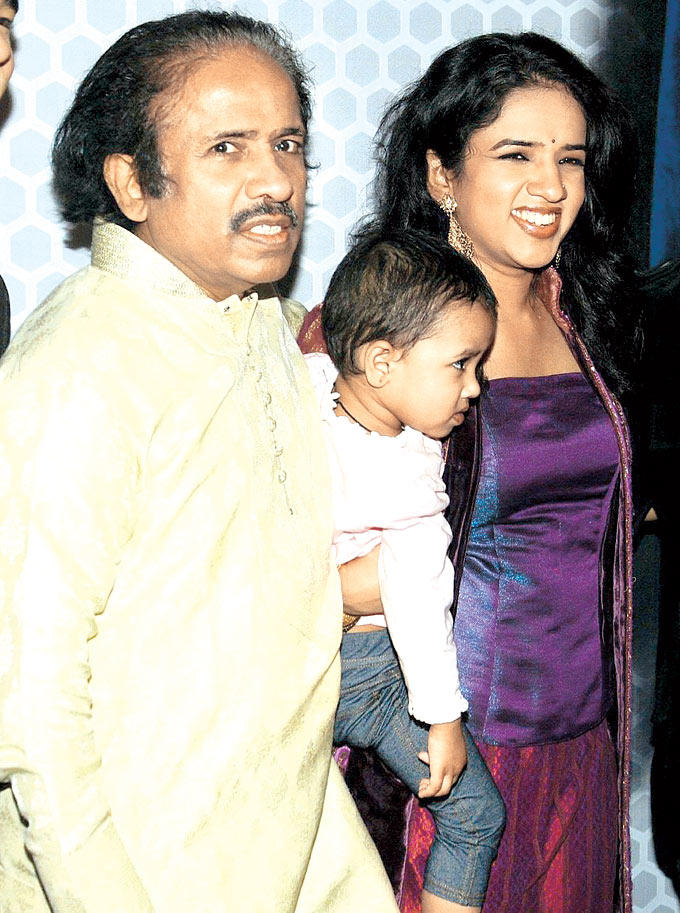 Dr. L Subramaniam With Daughter Bindu Spotted At Global Sounds Of Peace Music Concert