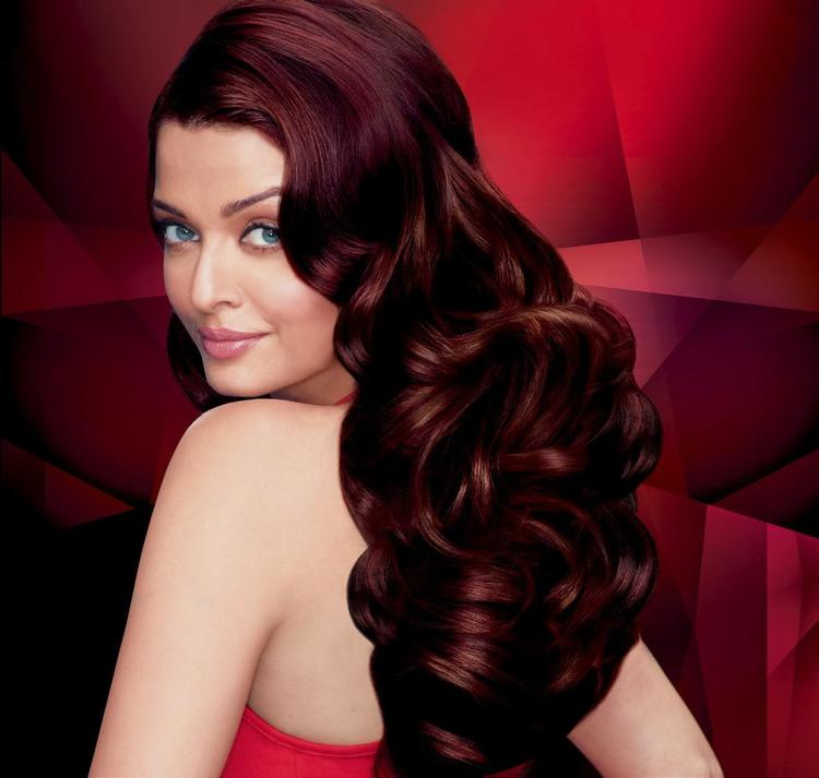 Aishwarya Gorgeous Hair Style Look Shoot For L'Oreal Paris Ad