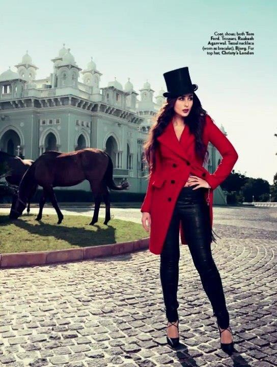 Kareena Fashionable Look Photo Shoot For Vogue India Magazine Feb 2013
