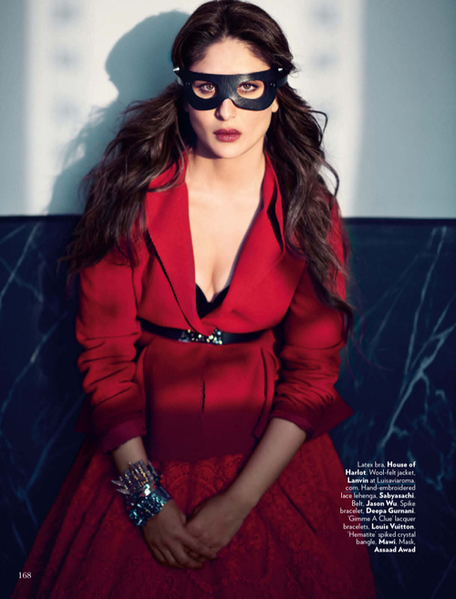 Kareena Glamour Look Photo Shoot For Vogue India Magazine Feb 2013