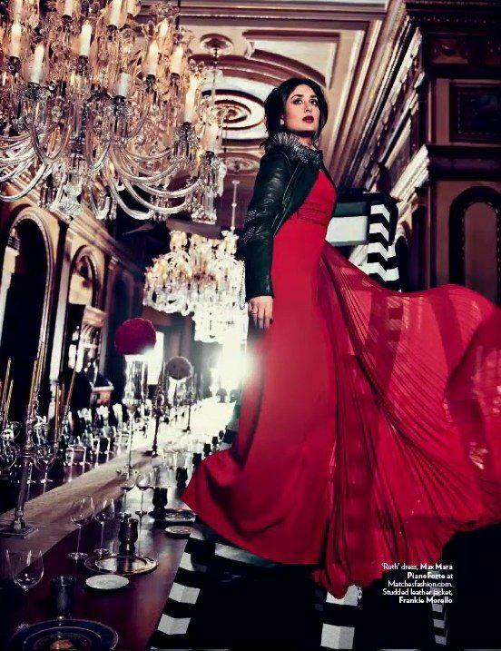 Kareena Sizzling Hot Look Photo Shoot For Vogue India Magazine Feb 2013